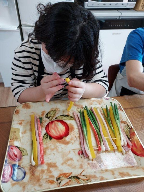 가정생활기술 훈련 - 명절음식만들기  이미지